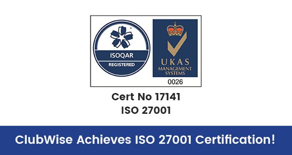 ClubWise Achieves ISO 27001 Certification!